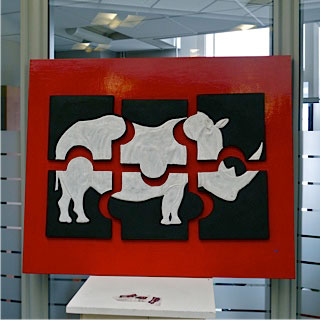 expo credit du nord clermont puzzle rhinoceros